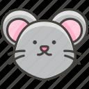 1f42d, face, mouse