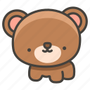 1f43b, bear icon
