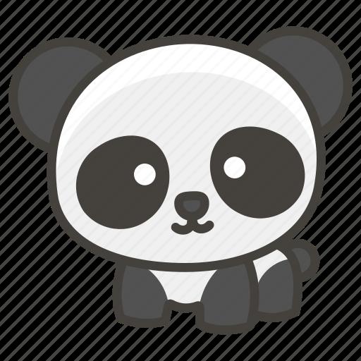 1f43c, panda icon
