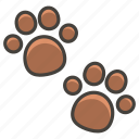 1f43e, paw, prints