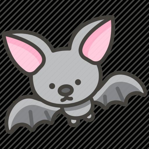 1f987, bat icon