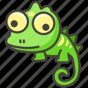 1f98e, lizard icon