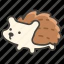 1f994, hedgehog icon