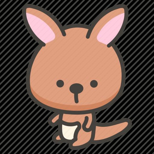 1f998, kangaroo icon