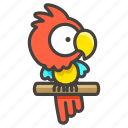1f99c, parrot icon