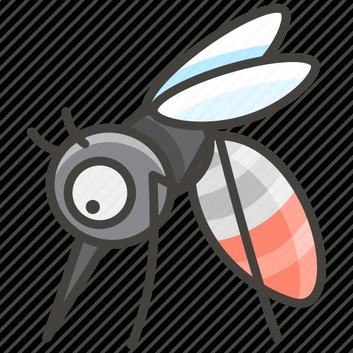 1f99f, mosquito icon