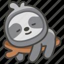 1f9a5, sloth