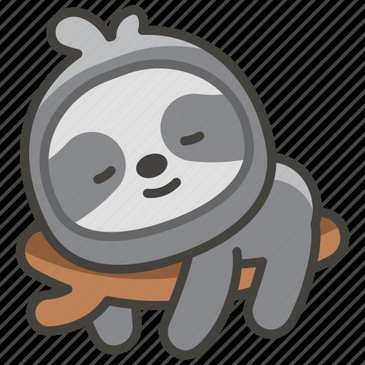 1f9a5, sloth icon