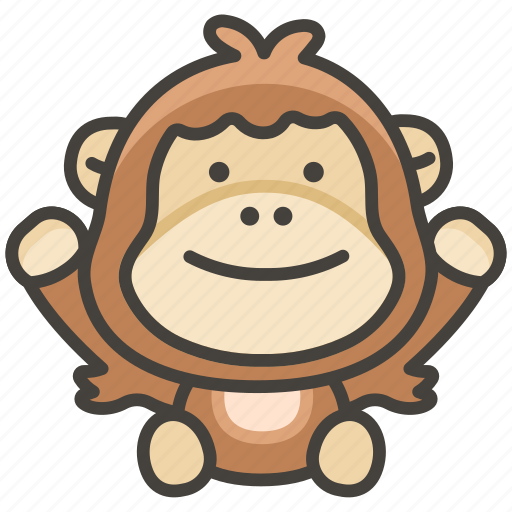 Orangutan icon - Download on Iconfinder on Iconfinder