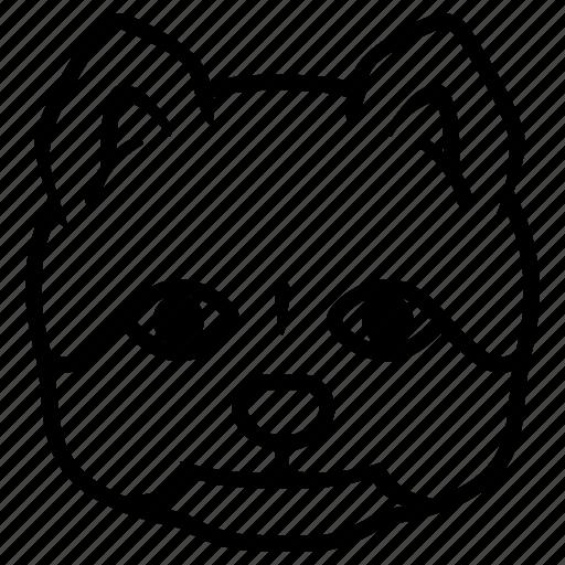 baby, dog, mascot, pet, puppy icon