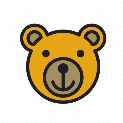 Animal, bear, face icon - Download on Iconfinder