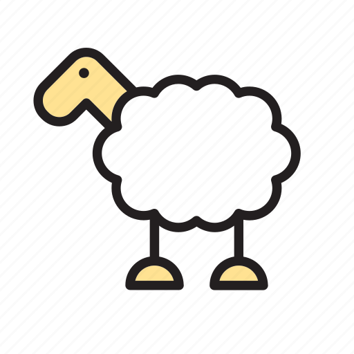 animal, farm, sheep icon