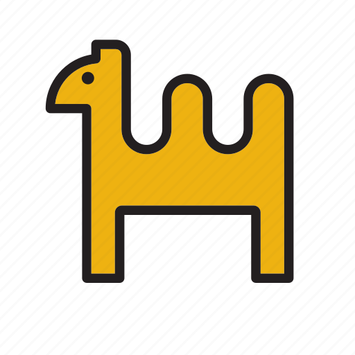 animal, camel, desert, dromedary icon