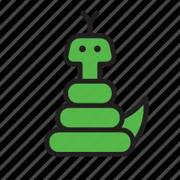 animal, cobra, reptile, snake icon