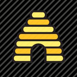 animal, bee, beehive, house icon