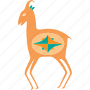 animal, animals, antelope, deer, nature, pet, wild icon