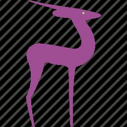 animal, antelope, buck, deer, goat, mammal, nature icon