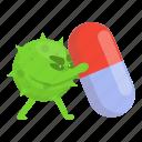 capsule, antibiotic, resistance