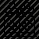antiseptic, gel, thin, vector, yul971 icon