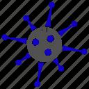bacteria, bug, microbe, rootkit, spywarevirus icon