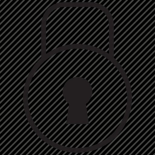 access, denied, key, lock, safe, security icon