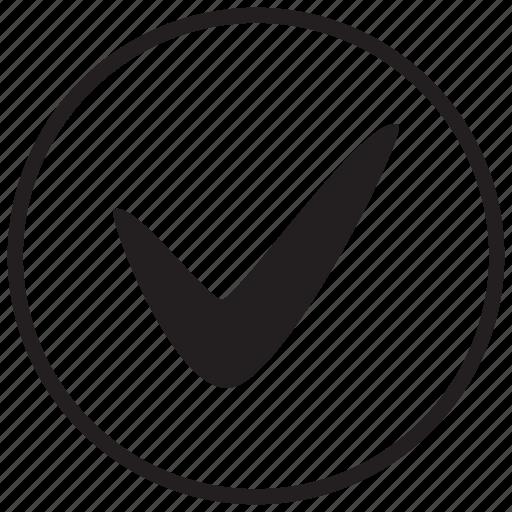 accept, check, checked, checker, ok, tick, yes icon