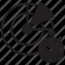 clock, radar, scan, scanner, scheduled, stopwatch, time icon