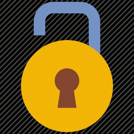 access, granted, lock, padlock icon