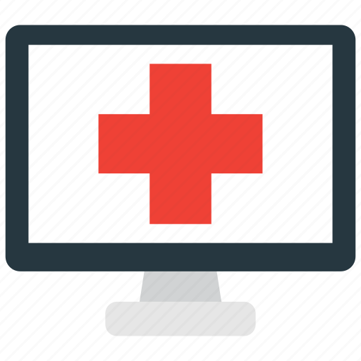 computer, health, healthcare icon