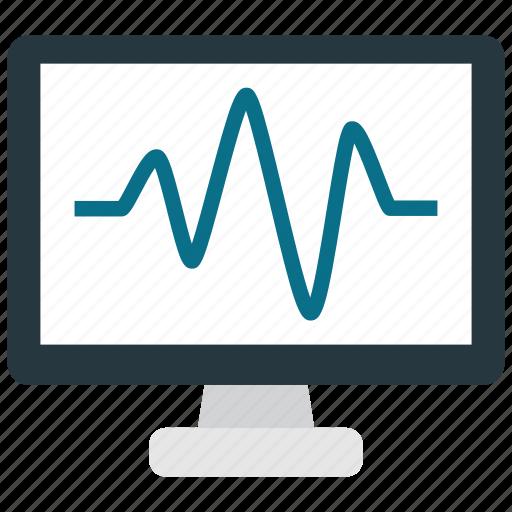 activity, computer, health, status icon
