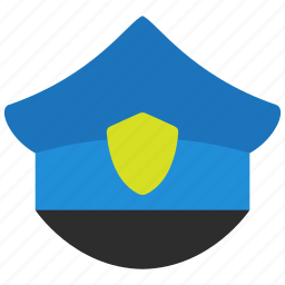 cyber, law, police, policeman icon