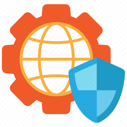 connection, cybersecurity, networking, privacy icon
