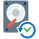 backup, data, history, recover, recovery icon