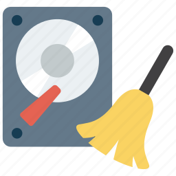 clean, cleaning, data, storage icon