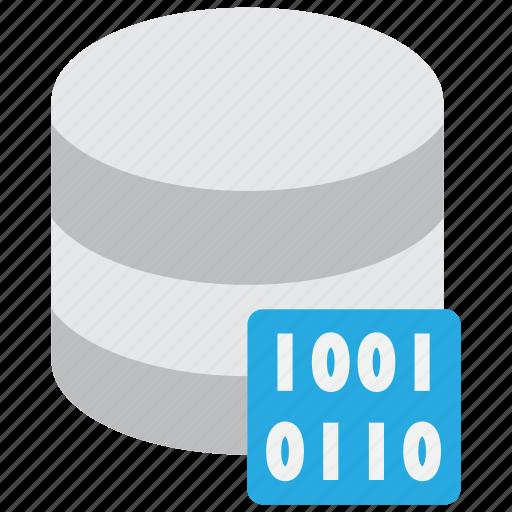 bit, byte, data, database, encryption, server icon