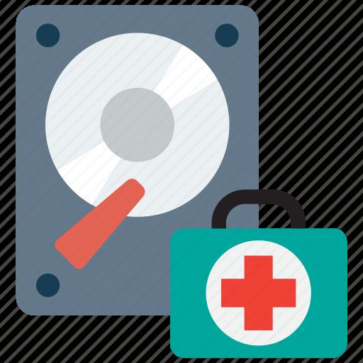 data, document, file, hard disk, rescue icon