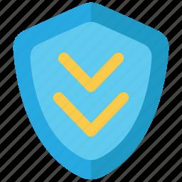 data, database, shield, update icon
