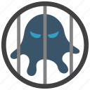 isolation, quarantine, virus icon
