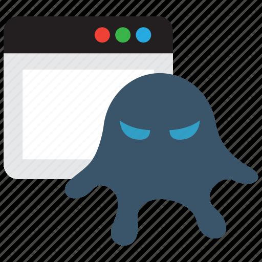 malware, rootkit, spy, spyware, trojan icon