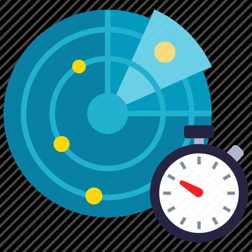 radar, scan, schedule, scheduled icon