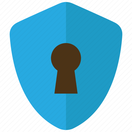 lock, management, protection, security, shield icon