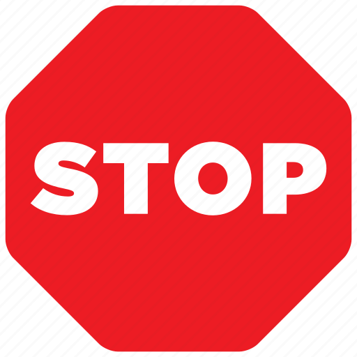 road, sign, stop, traffic icon