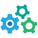cog, gear, preferences, settings, system icon
