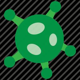 bacteria, bug, trojan, virus icon