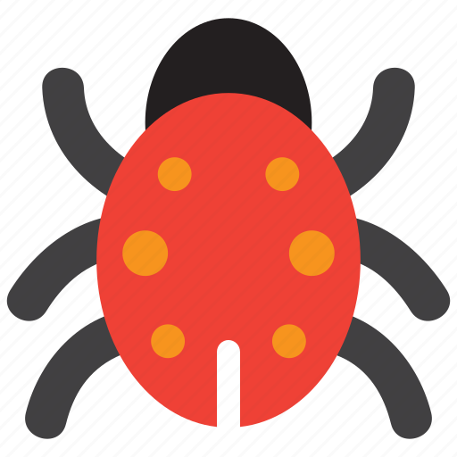 beetle, bug, insect, virus icon