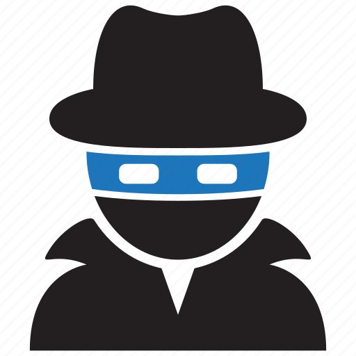 blackhat, crime, hacker, thieft icon