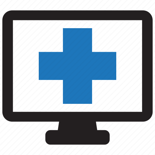 computer, device, health, medical, pc, screen, technology icon