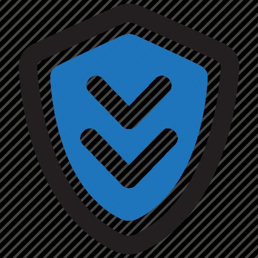 data, database, protect, refresh, shield, storage, update icon