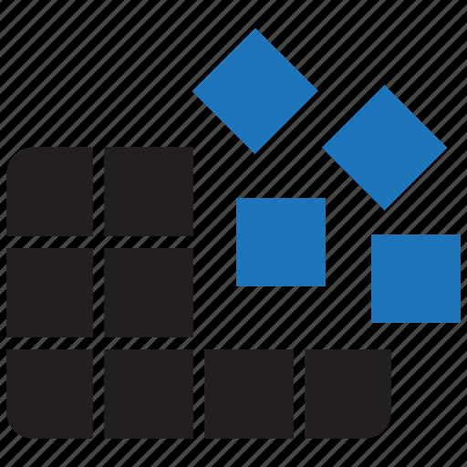 Defragmentation, defrag, data icon - Download on Iconfinder