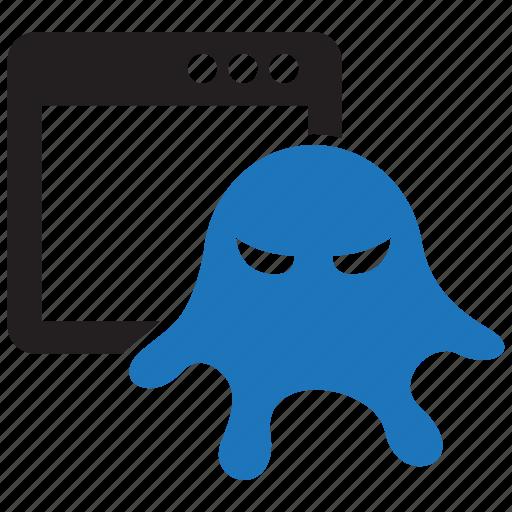 app, computer, infect, infest, malware, rootkit, virus icon